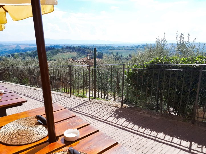Panorama Terrazza San Gimignano