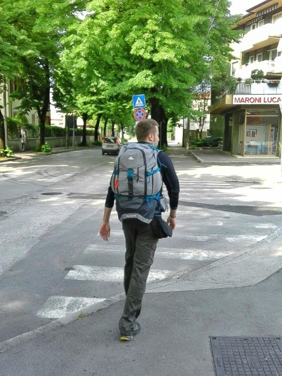 Cammino di Santiago - partenza