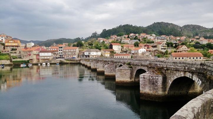 Cammino portoghese PONTE ROMANO PONTE SAMPAIO Pontevedra (Spagna)