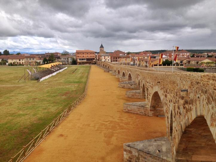 Puente de Orbigo -Cammino Francese Leon Santiago circa 283 km