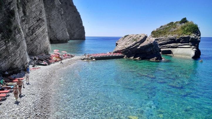 Spiaggia Isola di San Nicolò Budva