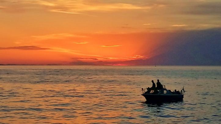 tramonto Croazia - Montenegro