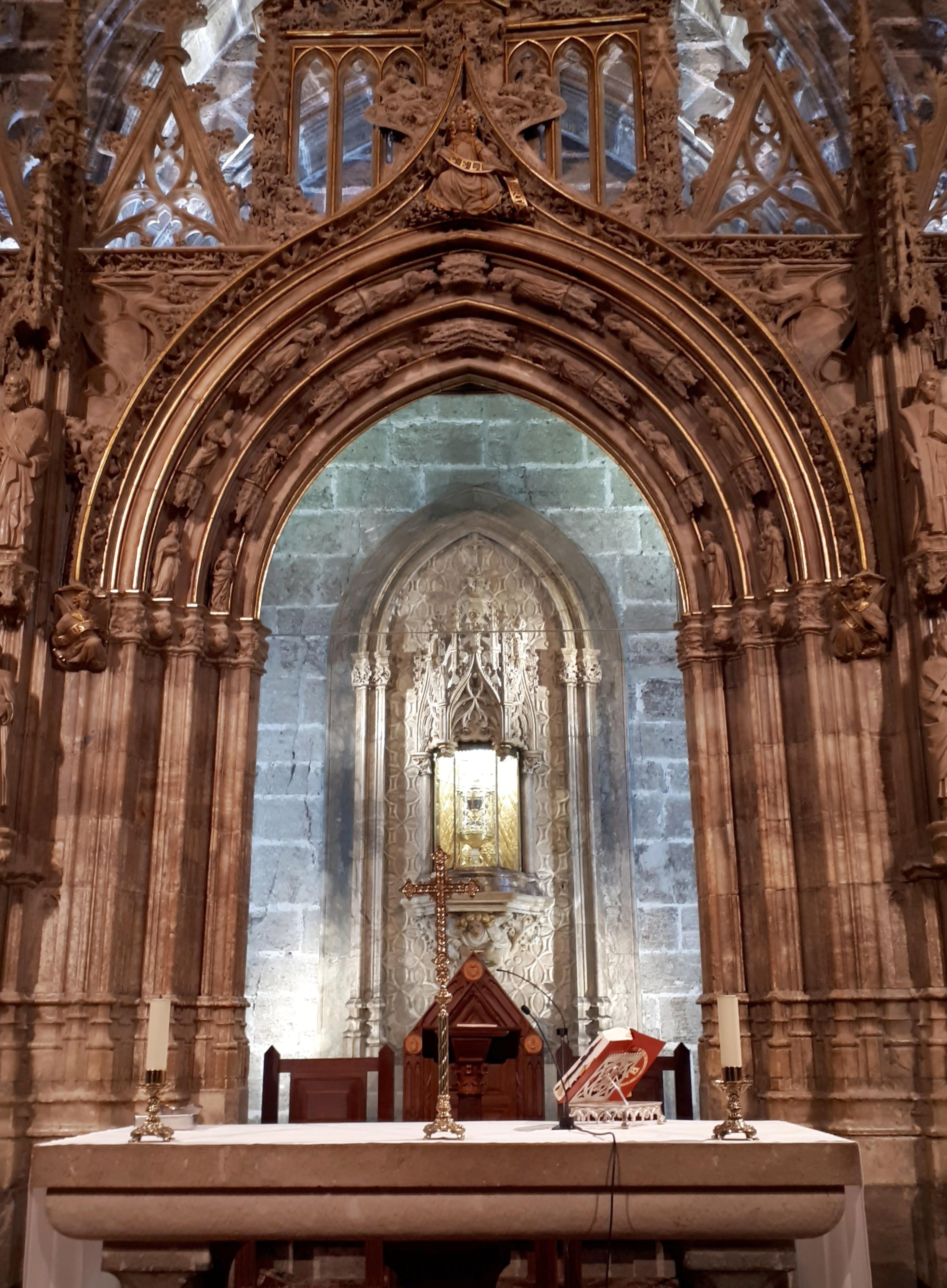 Valencia - cappella del Santo Graal -1