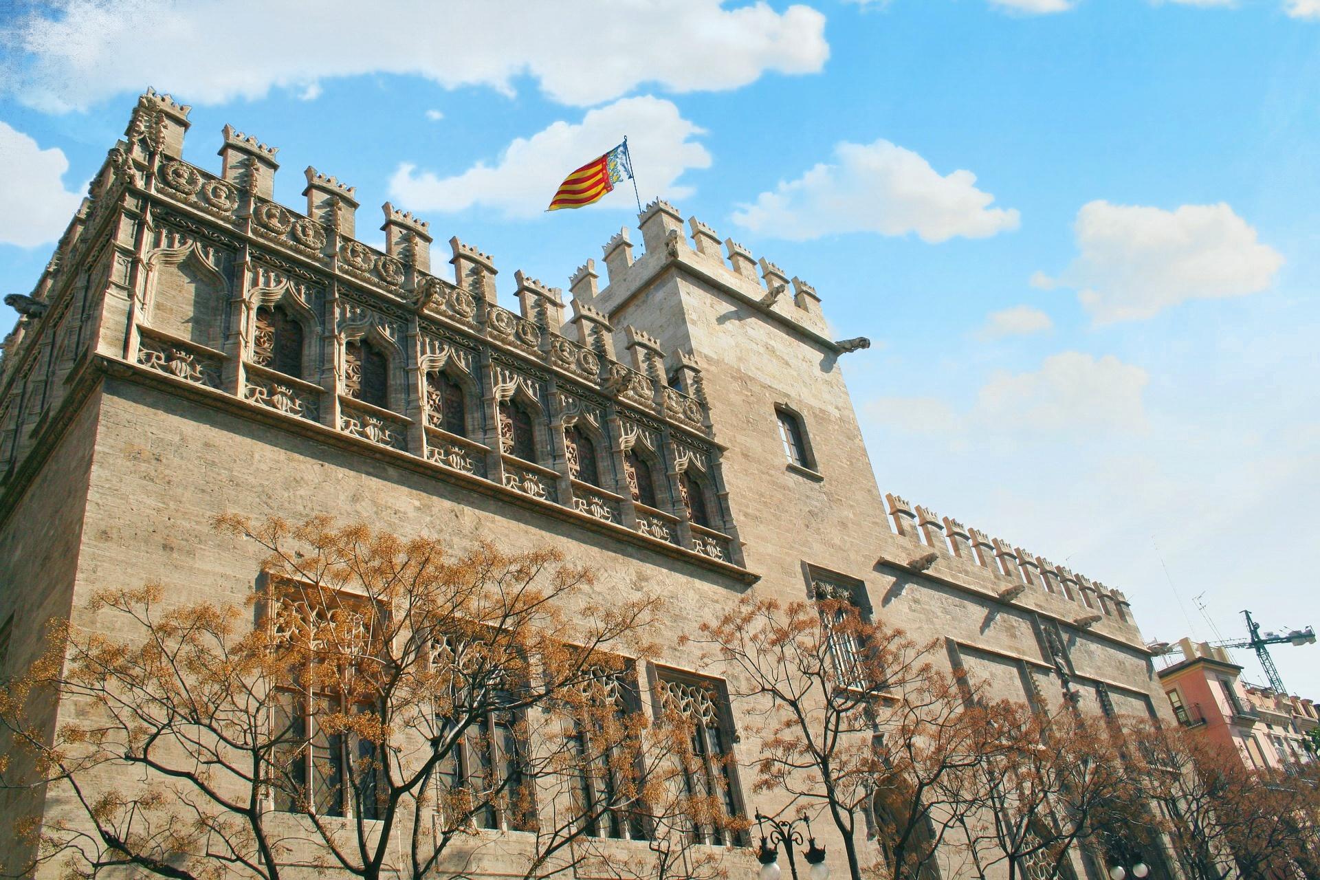 Valencia - centro storico - La Lonja - 1