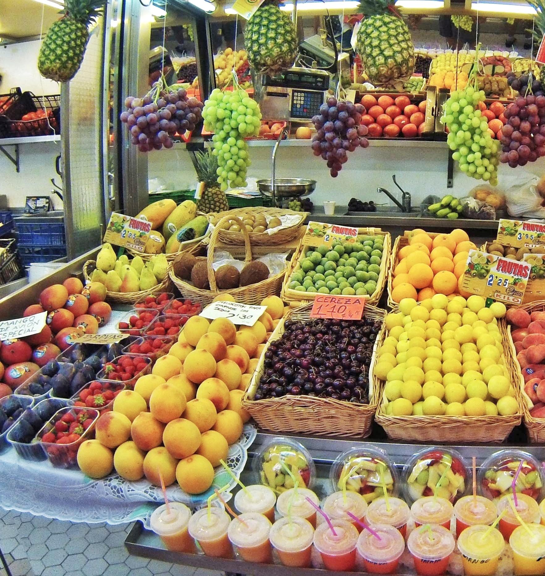 Valencia - centro storico - mercado central - 1