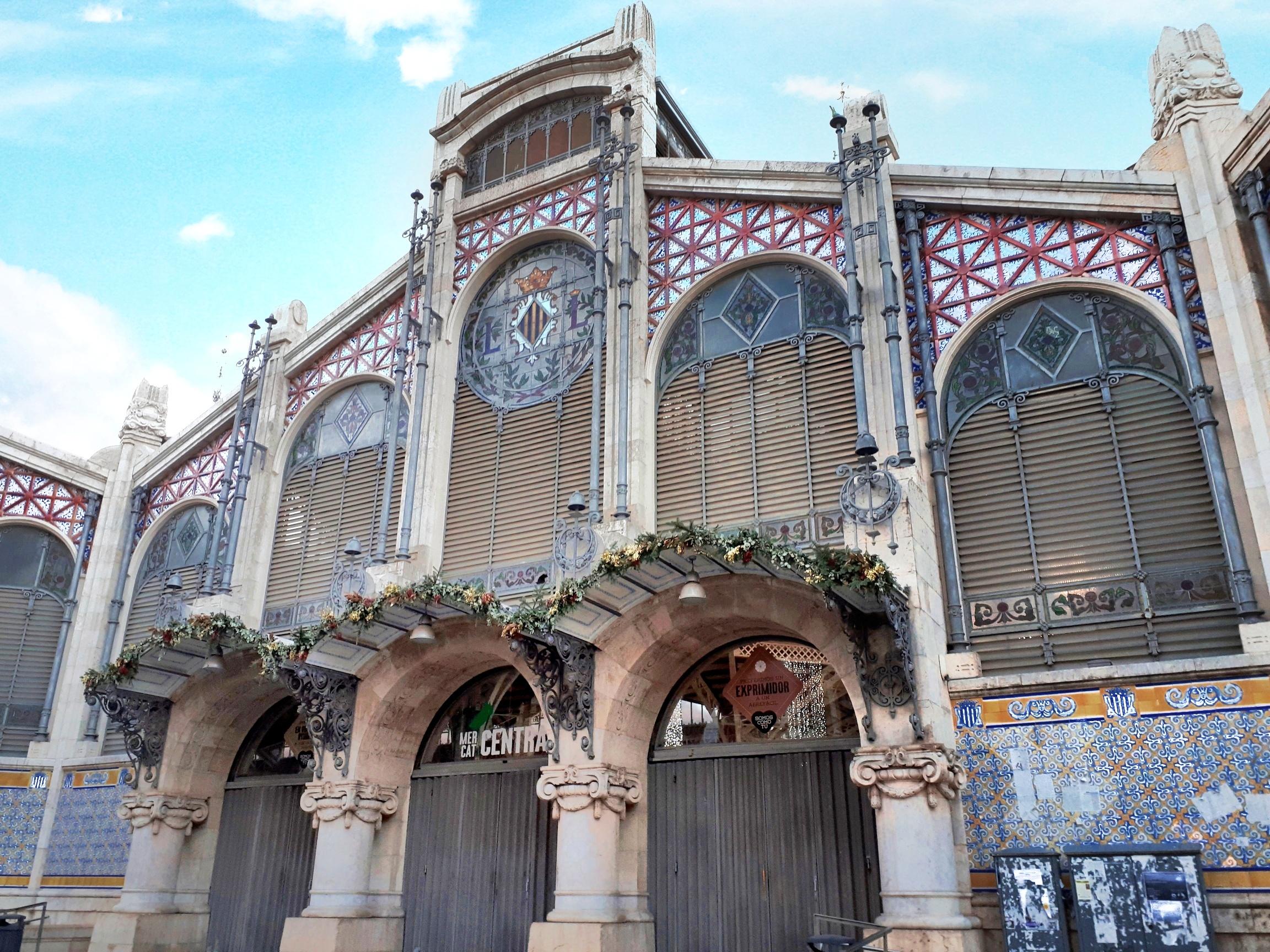 Valencia - centro storico - mercado central - 2