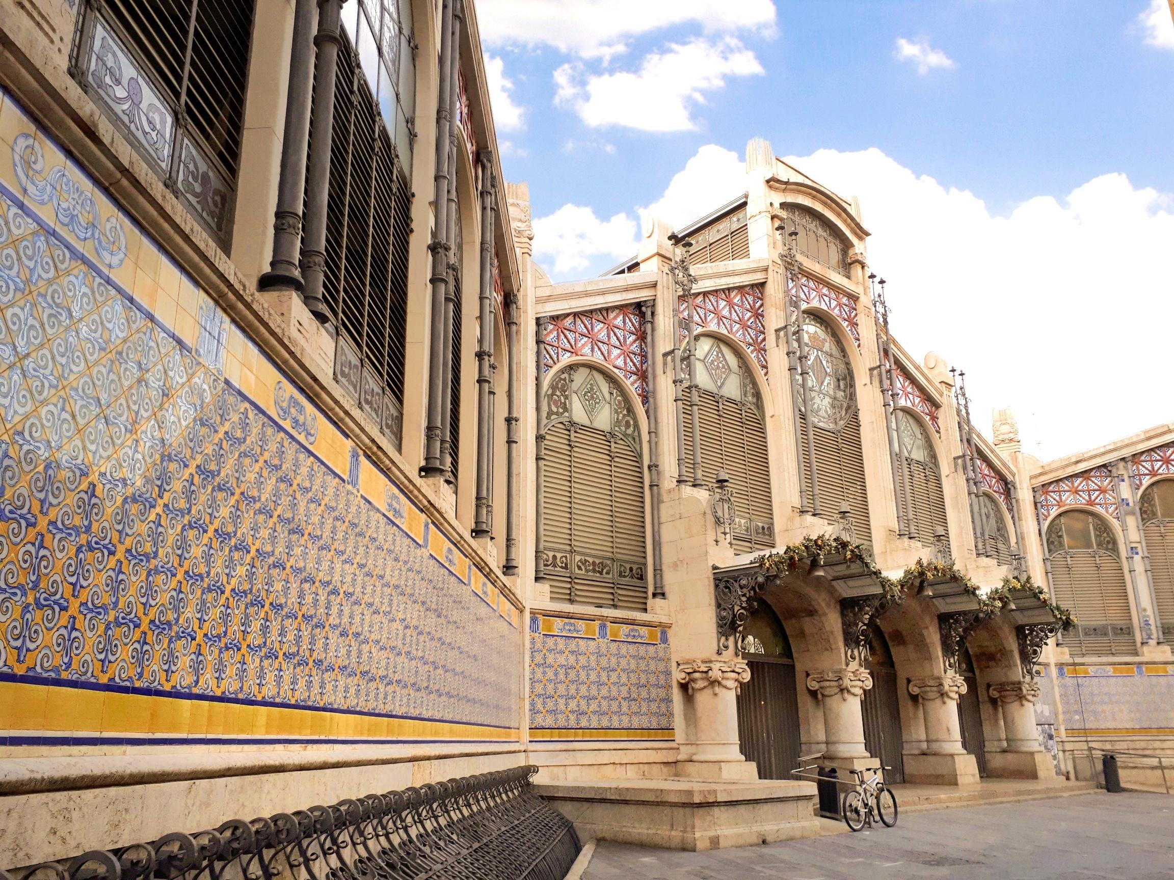 Valencia - centro storico - mercado central - 9