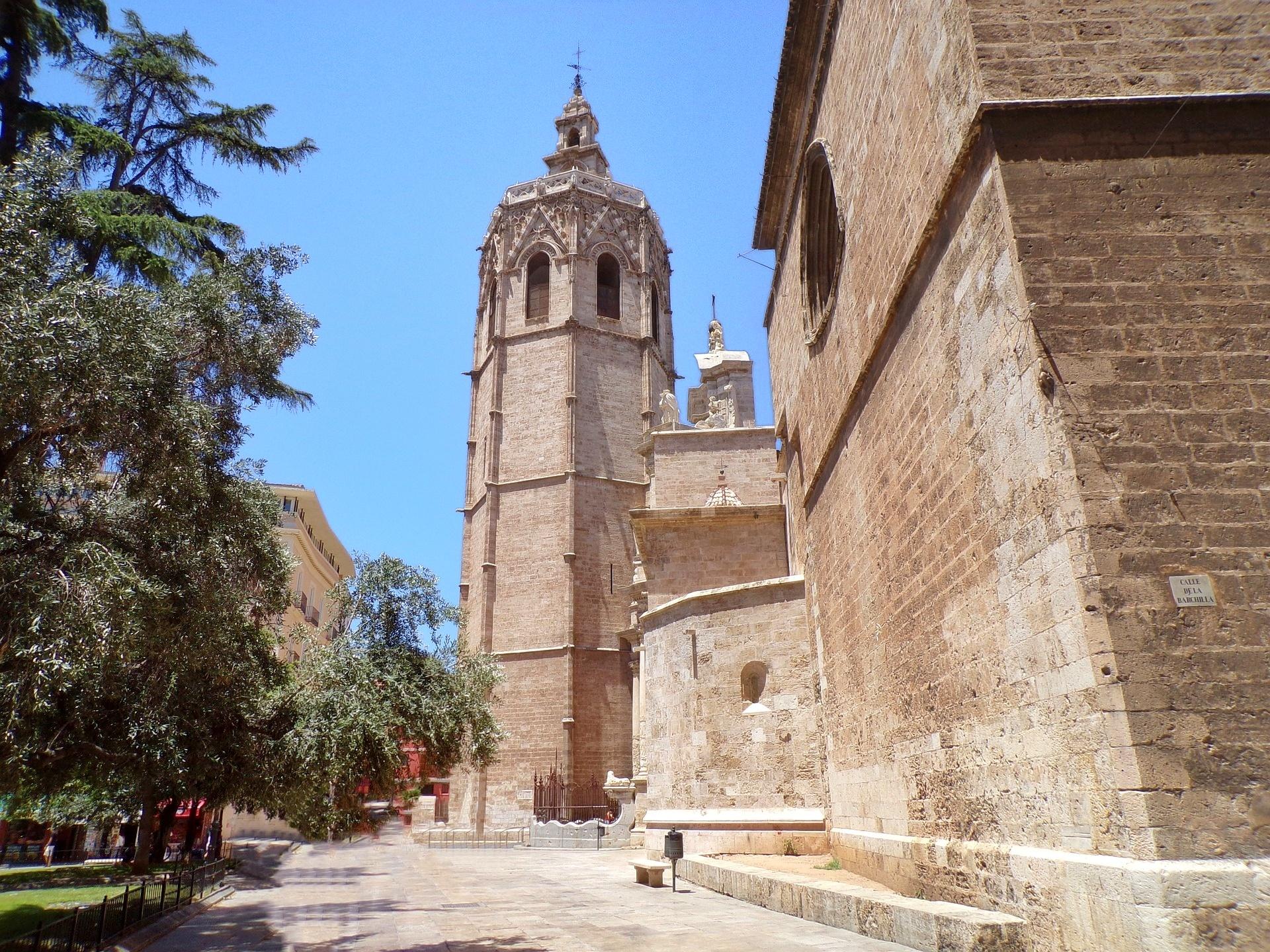 Valencia - centro storico - Plaza de la Reina
