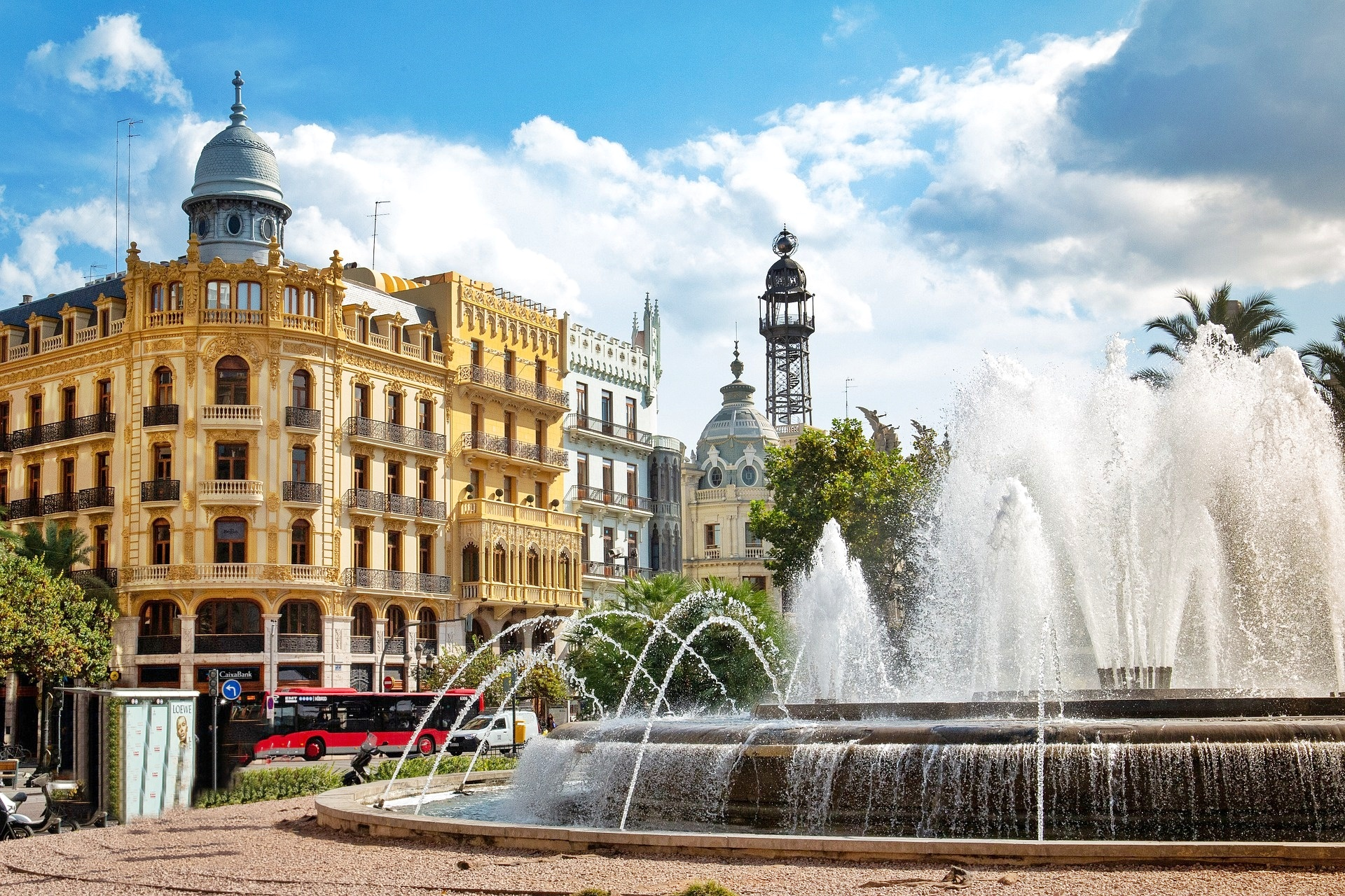 Valencia -Plaza Ayuntamiento - 3