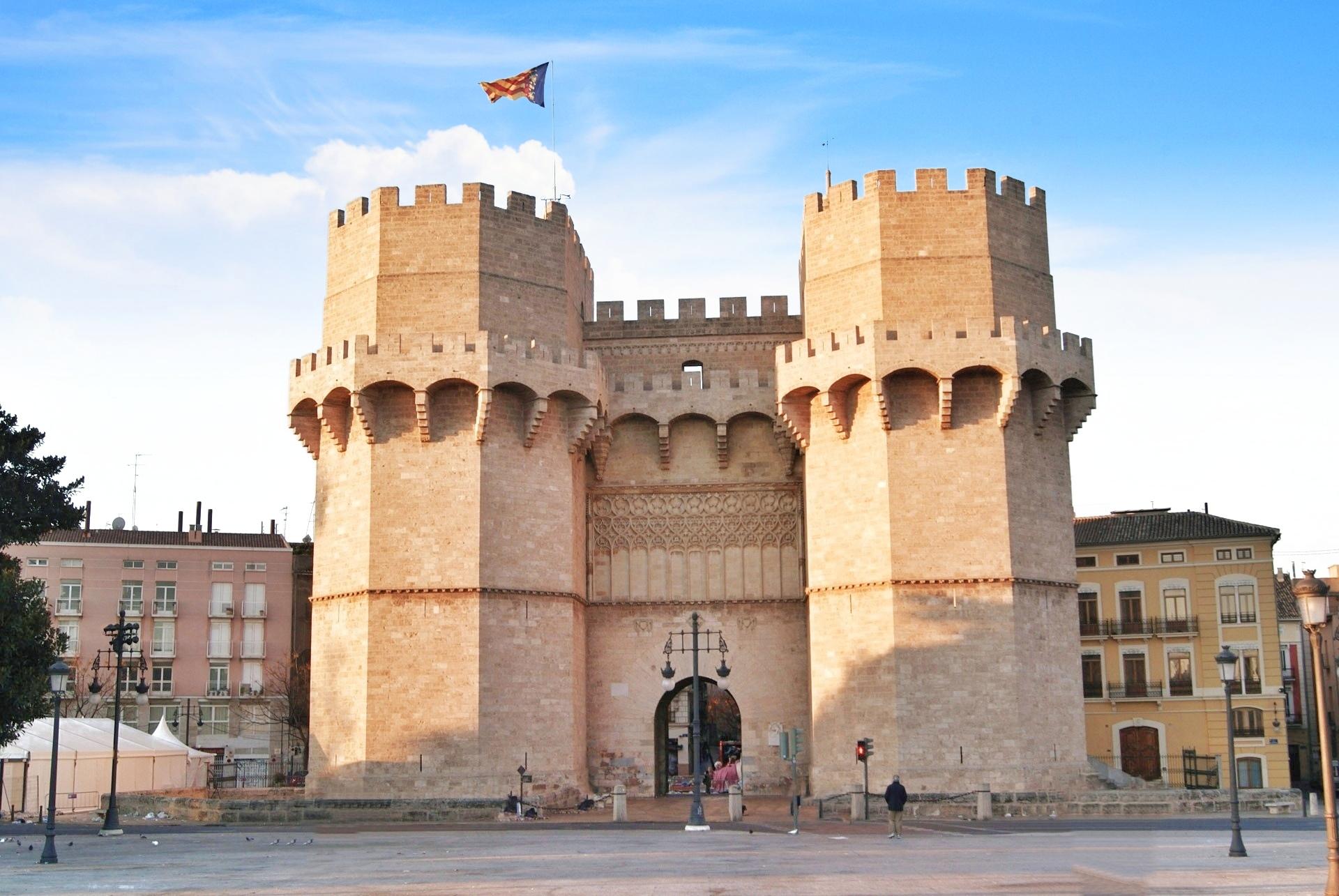 Valencia - Torre de Serranos