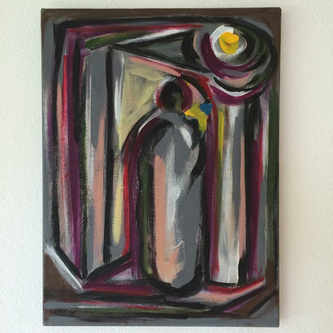 Ariel Lopez Padilla - dipinto - Hamlet