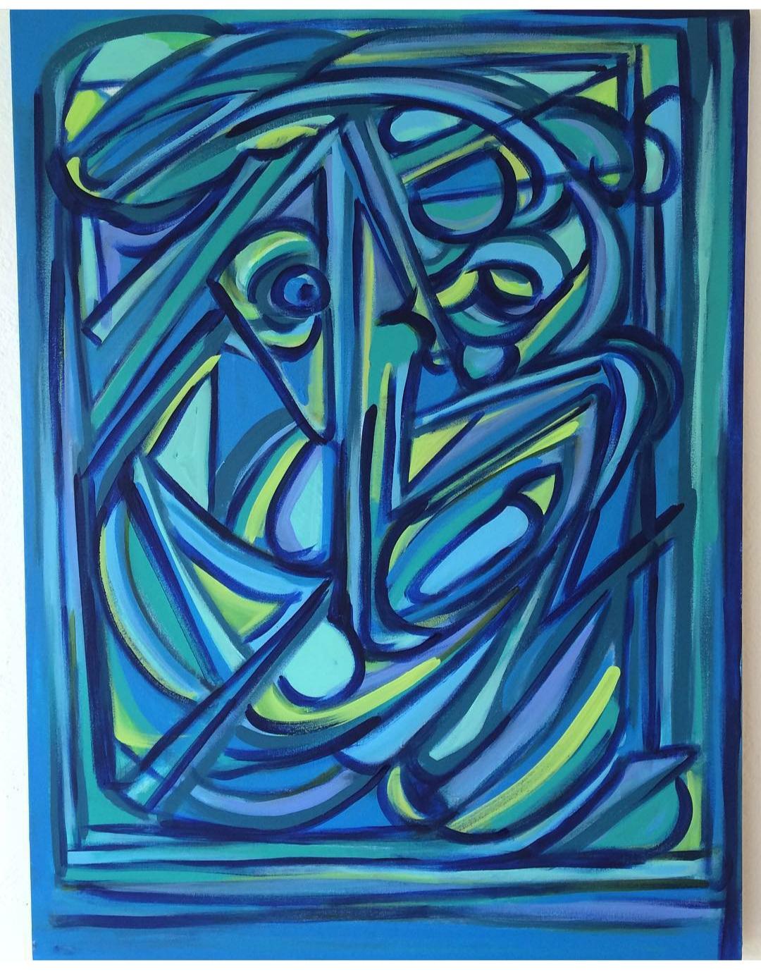 Ariel Lopez Padilla - dipinto - MINOTAURO