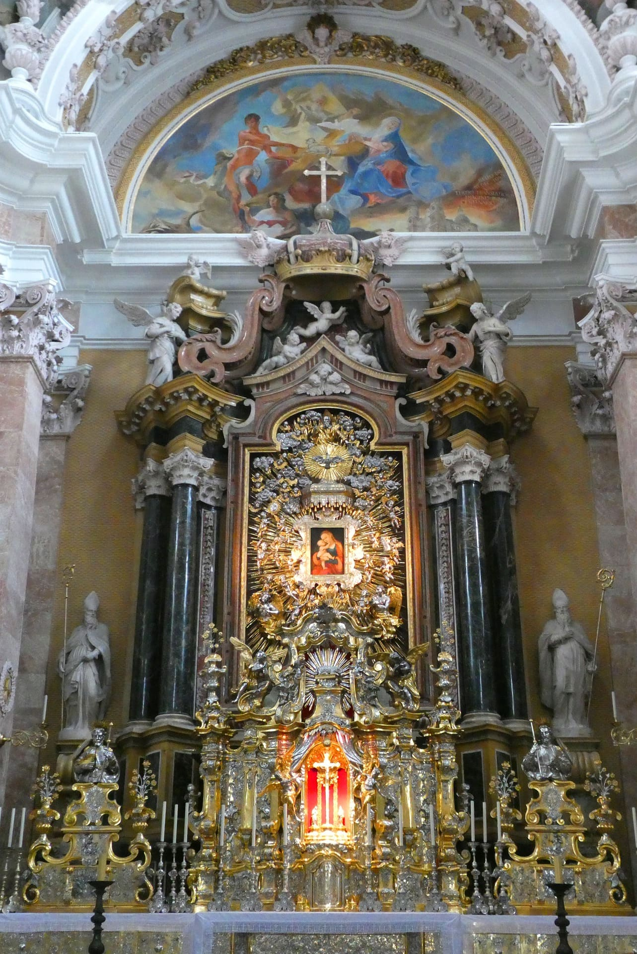 altare Duomo di San Giamoco Innsbruck