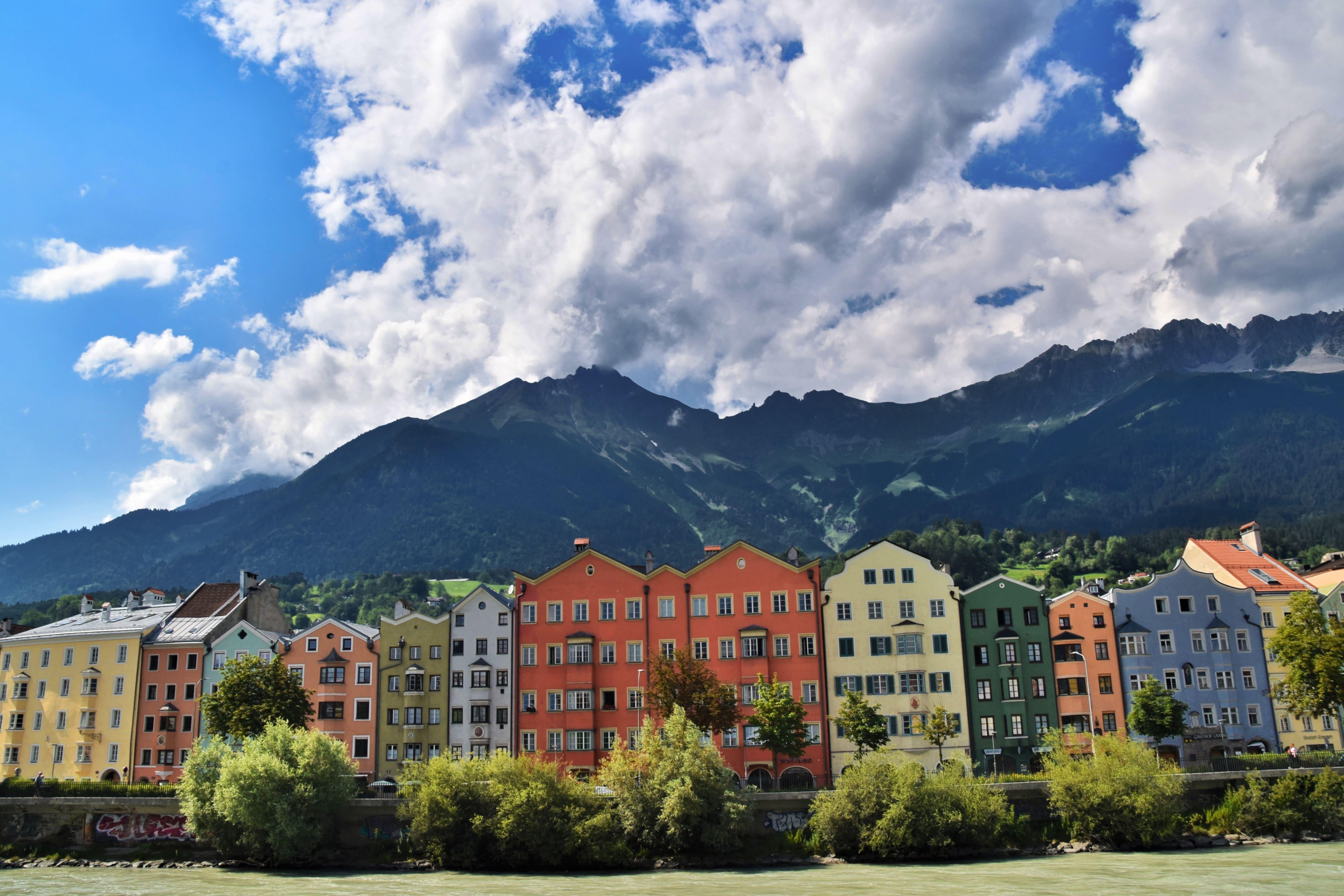 Innsbruck fiume Inn
